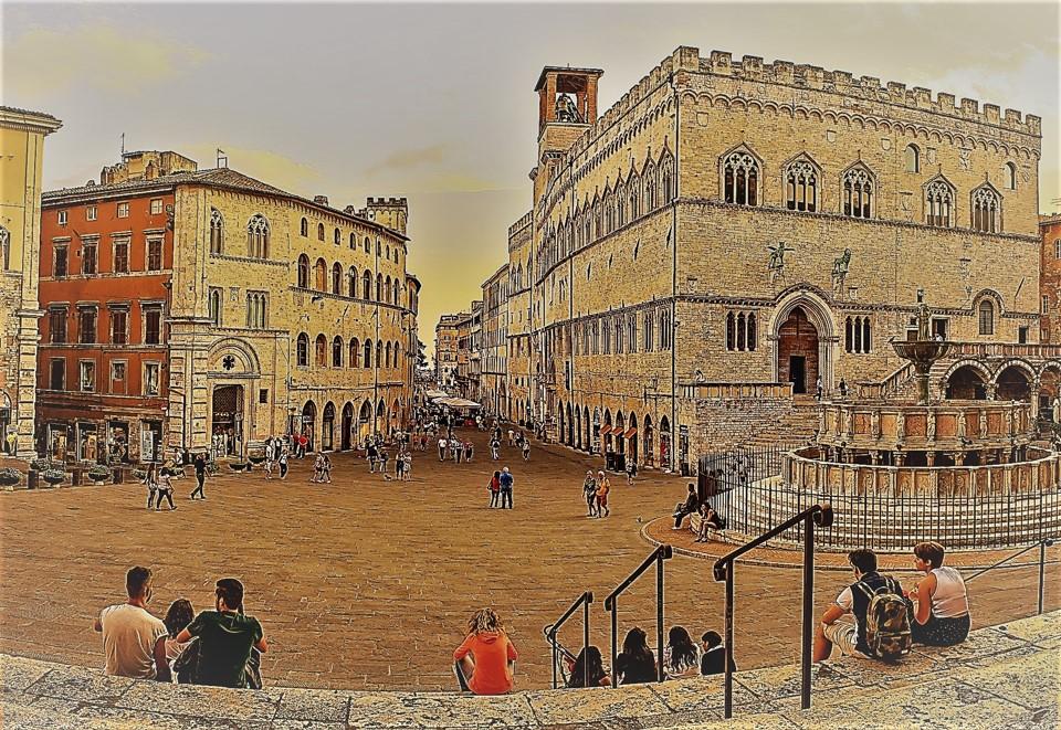 Unterricht: Bild Perugia